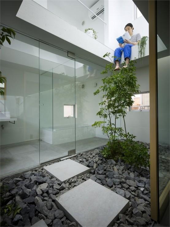 """japanese inspired courtyard ideas 11 554x739 06 24 894588 - Kelebihan """"Courtyard"""" Buat Kediaman Moden Dengan Nilai Estetika Yang Tinggi"""
