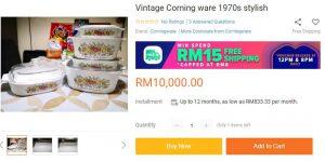 Ha! Biar Betul Set Corning Ware Antik Ni Cecah RM24,000? 2