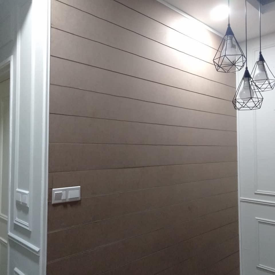 """Lelaki Ini DIY """"Shiplap"""" Pada Dinding Kediaman Dengan Kos RM100 Sahaja! 5"""