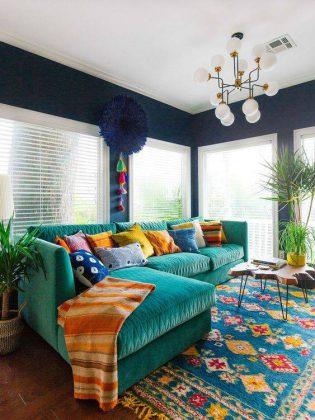 nak dekor rumah banyak warna dan corak tak salah, tapi