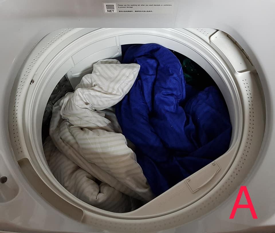"""Ini Teknik Betul Basuh """"Comforter"""" Tebal Guna Mesin Basuh Di Rumah 3"""