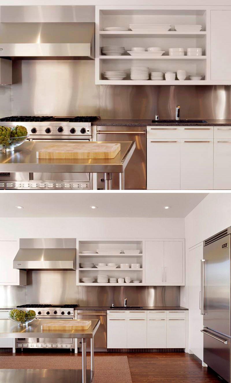 "4 Jenis ""Backsplash"" Pilihan Untuk Dapur Lebih Menarik Dan Selamat 4"