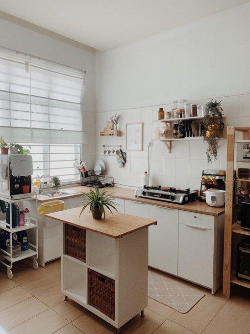 """DIY """"Kitchen Island"""" Dalam Ruang Terhad Dengan Kos RM300 Sahaja! 6"""