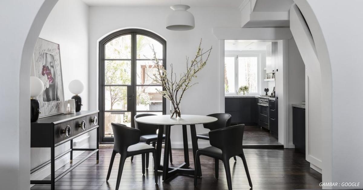 Trik Dekorasi Black White Buat Ruang Tampil Menarik Impiana