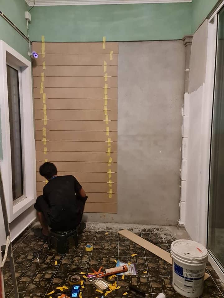 "Tampal ""Shera Plank"" Pada Dinding Untuk Hasilkan Fasad Kediaman Macam English Cottage 5"
