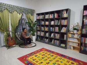 Pertandingan Mendekorasi Ruang Bacaan - IMPIANA 21