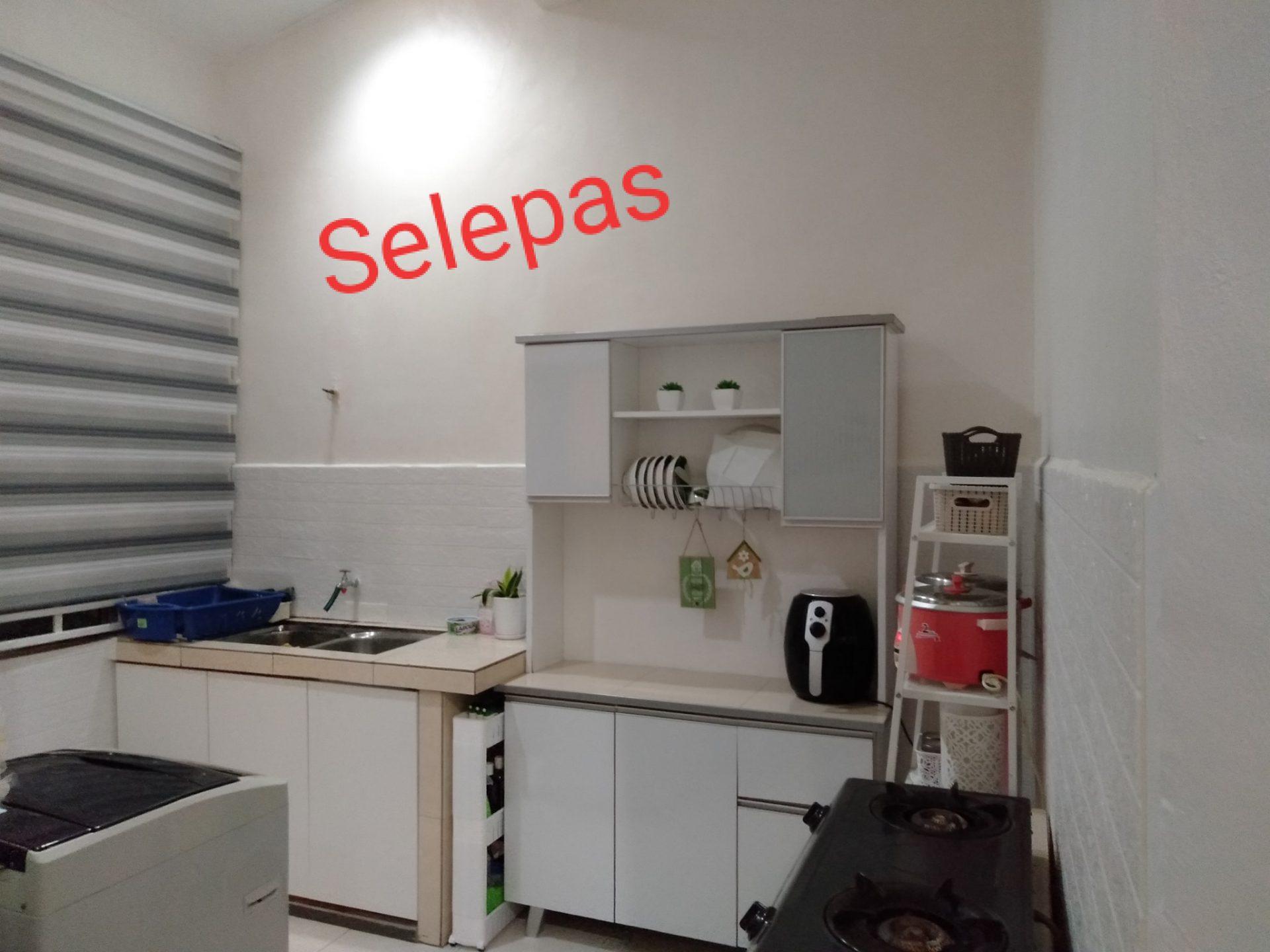 D.I.Y Kabinet Dapur, Mudah Tempah Pintu Dekat Shopee Tinggal Pasang Je 9
