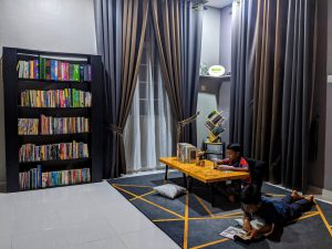 Pertandingan Mendekorasi Ruang Bacaan - IMPIANA 20