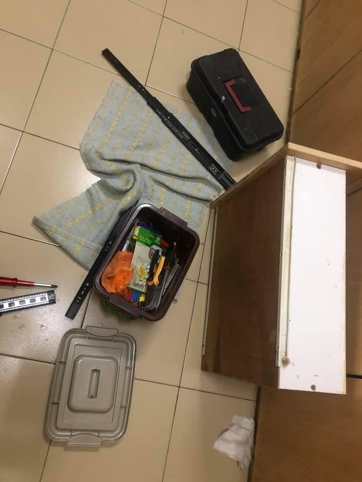 """Modal Tak Sampai RM 10, Tukar Track Laci Jadi """"Soft Close"""" 5"""