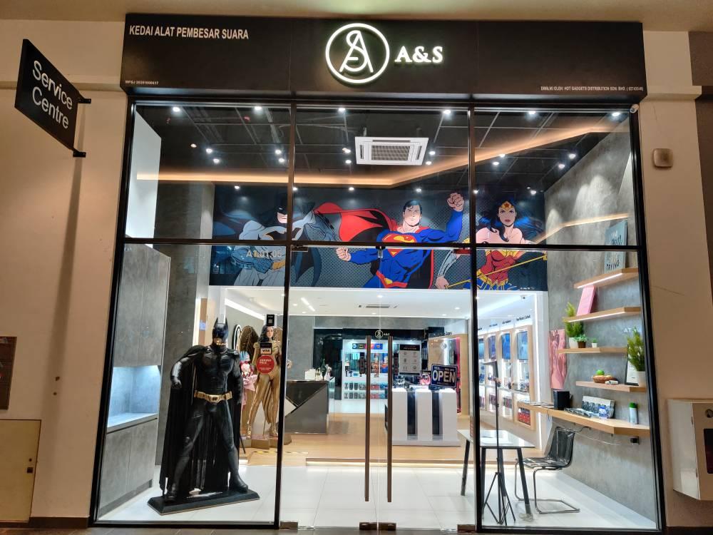 Pembukaan A&S Concept Store dan Service Center dengan Tema Komik DC 7