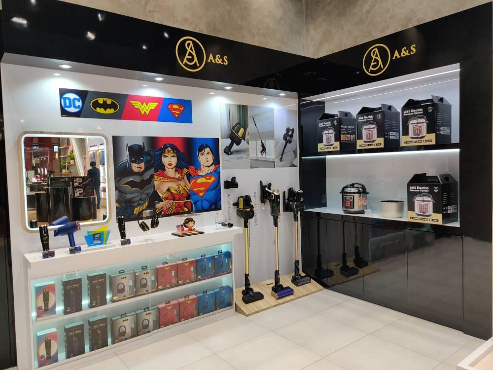 Pembukaan A&S Concept Store dan Service Center dengan Tema Komik DC 5