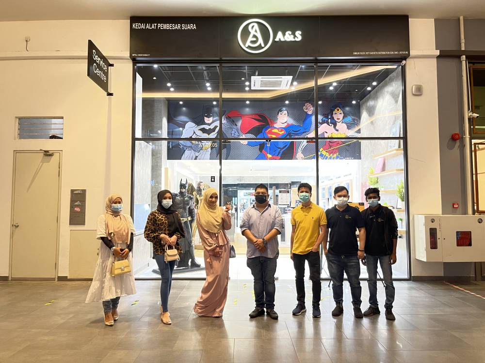 Pembukaan A&S Concept Store dan Service Center dengan Tema Komik DC 3