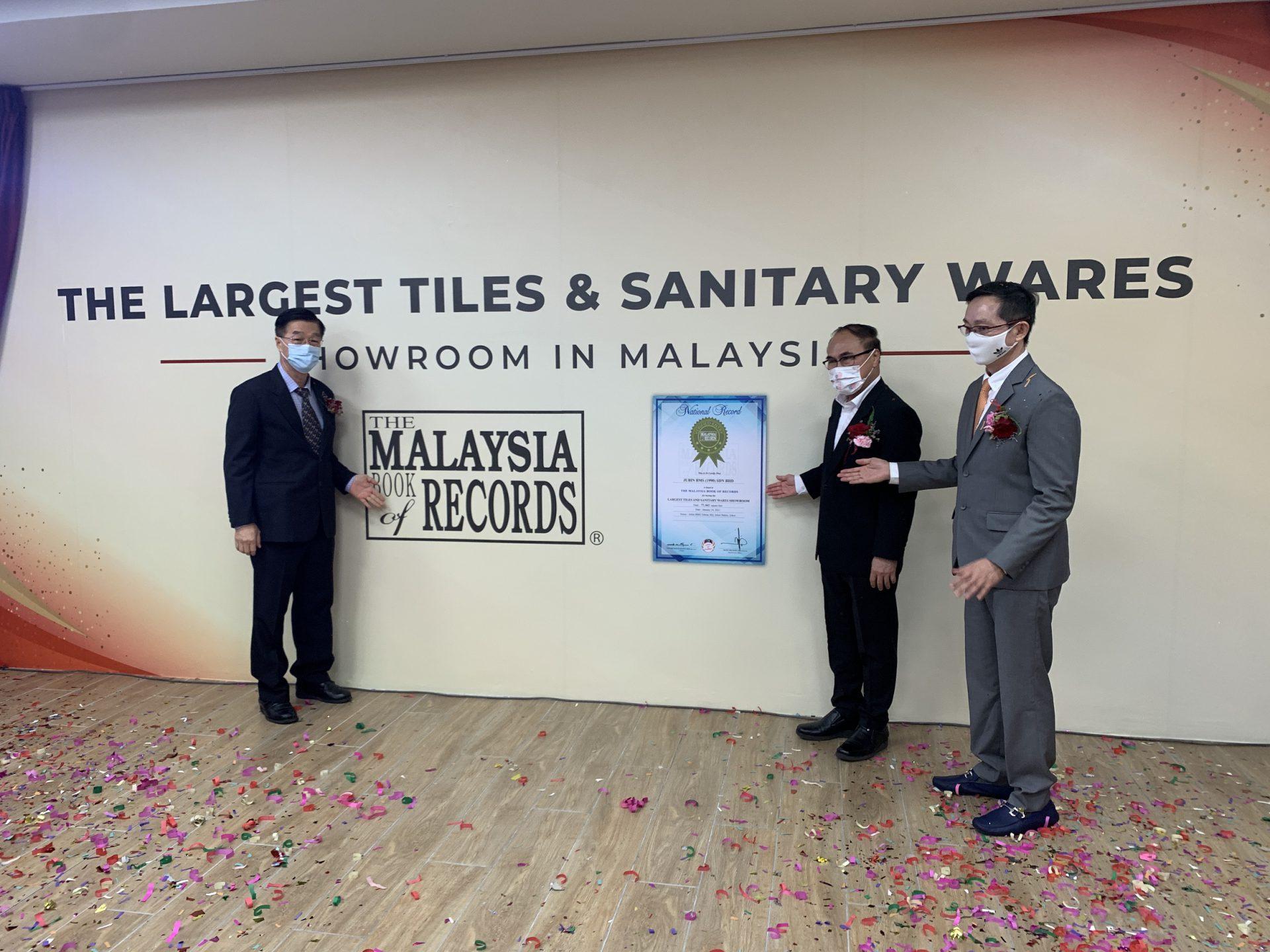 "BMS Pegang Malaysia Book of Records, Bilik Pameran Jubin Dan ""Sanitary Wares"" 4"