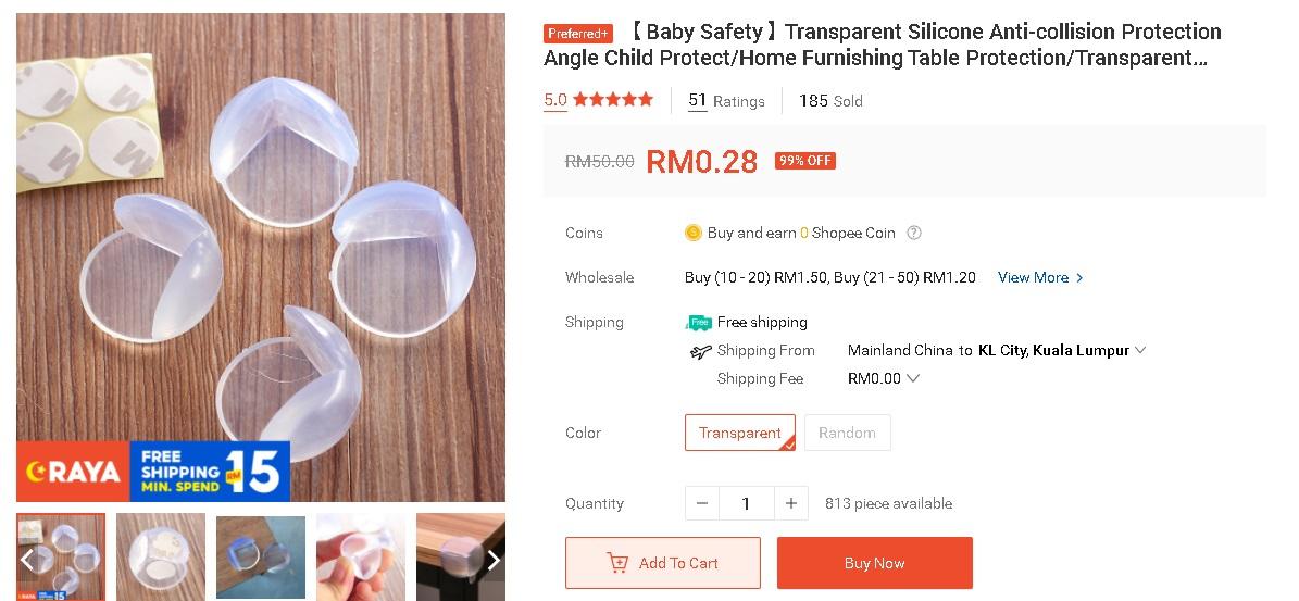 Klip Bawah RM 10 Untuk Keselamatan Si Cilik Yang Tengah Lasak 3
