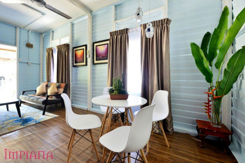 Ruang Dapur Rumah Papan Desainrumahid Com