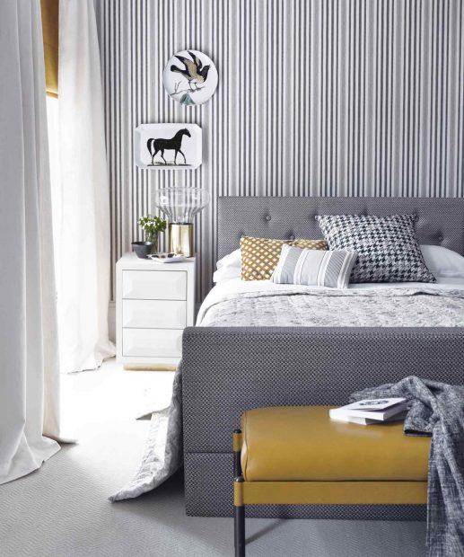 Tona Bunga Dan Corak Jalur Amat Sesuai Untuk Bilik Tidur