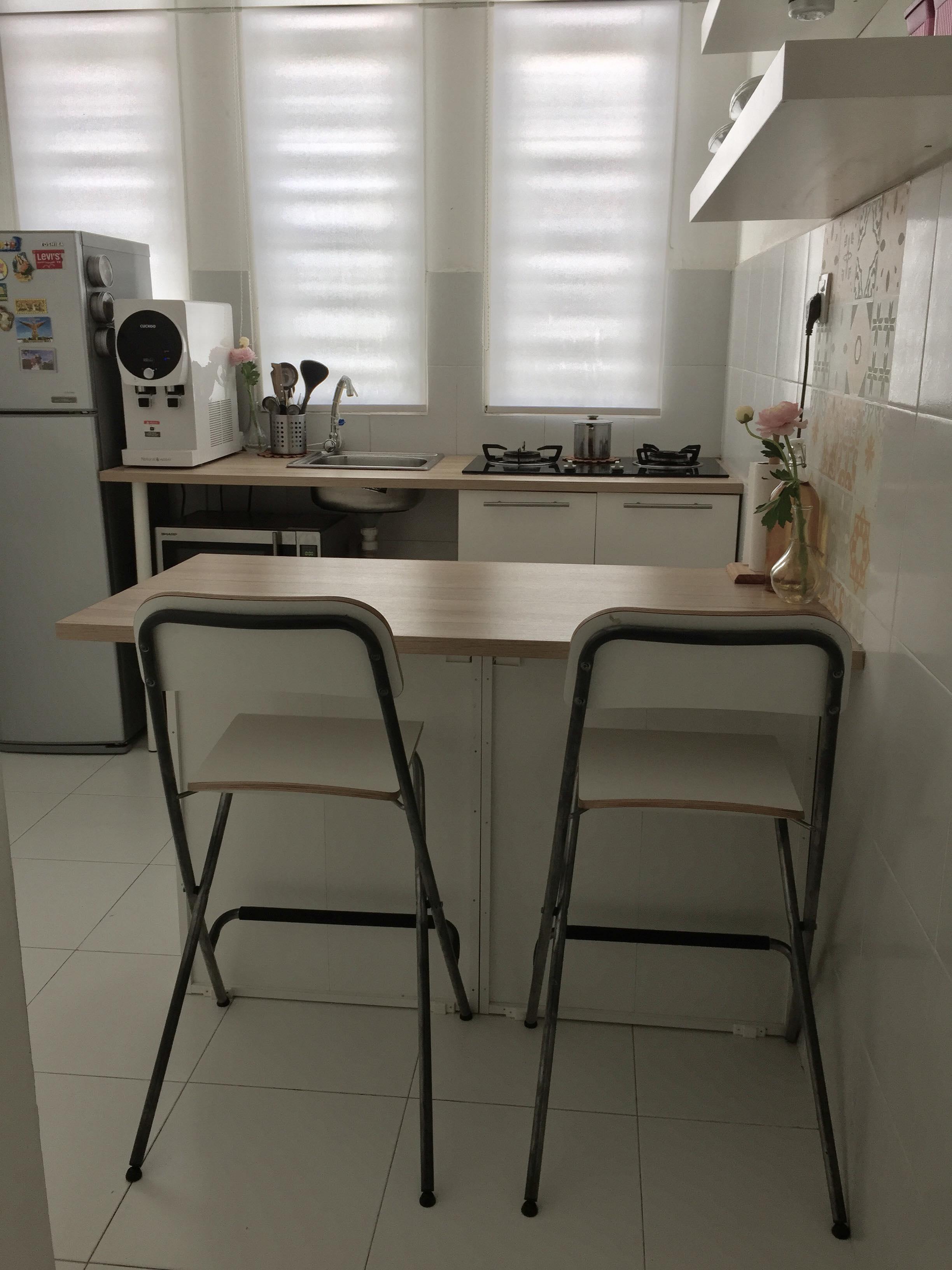 Kos Bawah Rm550 Idea Praktikal Hias Dapur Sempit Dengan