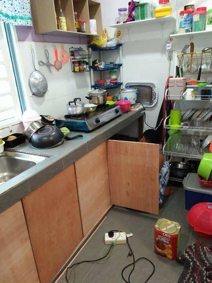 Jimat Bina Sendiri Pintu Kabinet Dapur