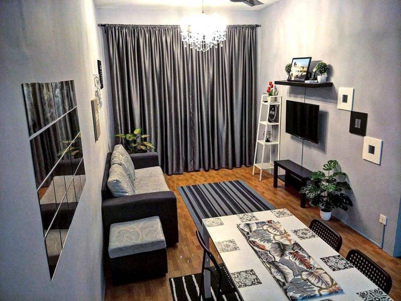 Warna Kelabu Untuk Ruang Tamu Desainrumahid Com