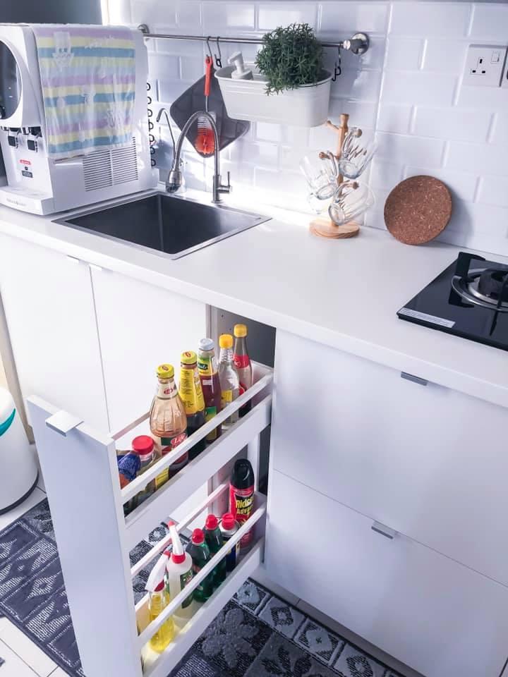 Sendiri Dapur Sempit 7 Kaki Modal Rm